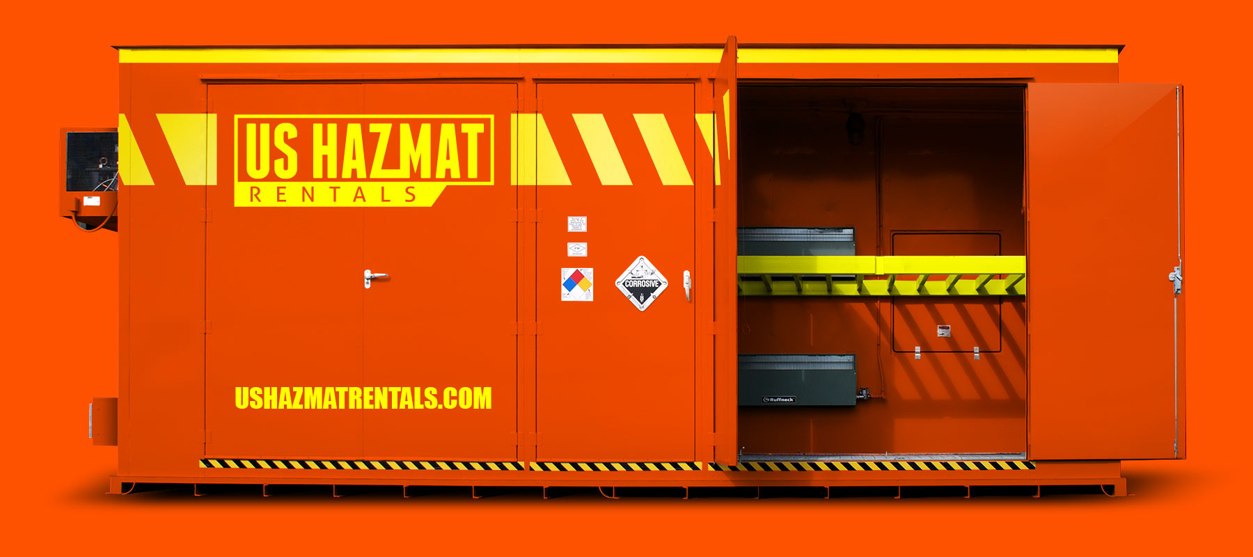 Fire Rated Chemical Storage Building Rentals