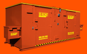 Large Explosive Magazine Storage Armoire Rental Building
