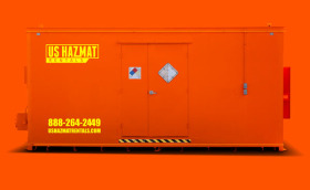20x8 4 hour fire-rated chemical storage locker