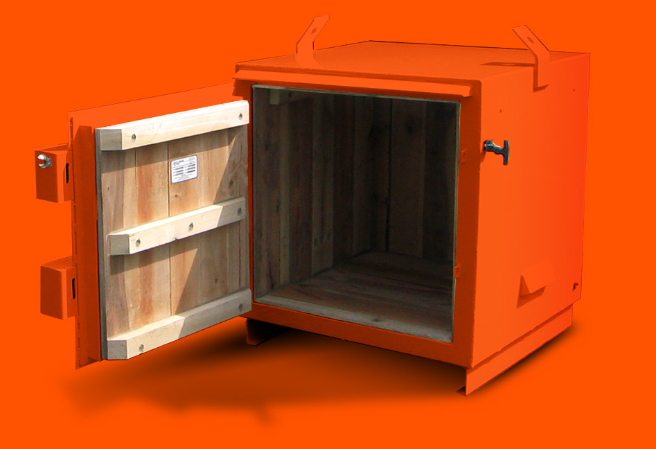 Small Explosive Magazine Storage Cabinet By US Hazmat Rentals