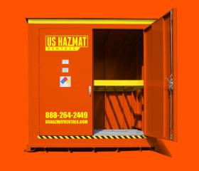 Hazardous Material and Chemical Storage Locker
