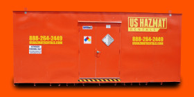 30' US Hazmat Rentals chemical storage locker