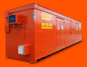 40' Hazardous Material Storage Locker by US Hazmat Rentals